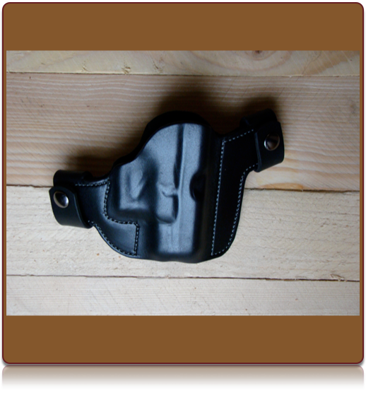 The 'Thrasos' Custom Leather OWB Holster by Soteria Leather