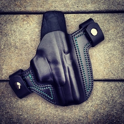 The 'Thrasos with Body Shield' OWB Holster by Soteria Leather