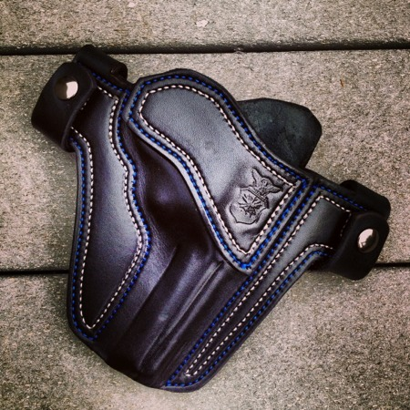 US Air Force Military Tribute OWB Holster by Soteria Leather
