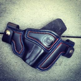 US Coast Guard Military Tribute OWB Holster - Soteria Leather