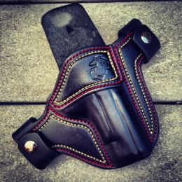 USMC Military Tribute OWB Holster by Soteria Leather
