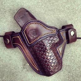 USN Military Tribute OWB Holster by Soteria Leather