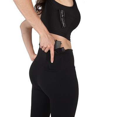 Original Concealment Leggings '3/4 Length' by UnderTech
