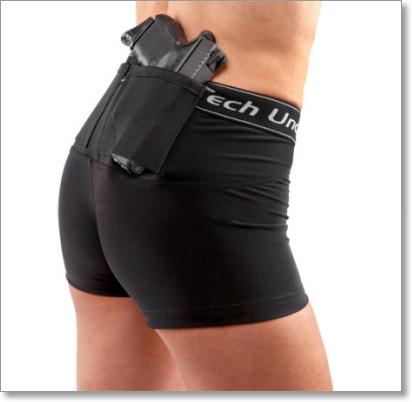 Woman S Compression Gun Holster Short Shorts Undertech