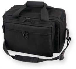 Extra Large Range Bag Black with Pistol Rug by Bulldog Cases