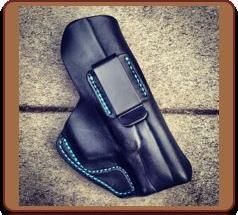 The 'Athena' Custom Leather IWB Holster by Soteria Leather