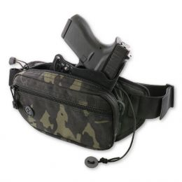 FasTrax PAC Waistpack Multicam (SubCompact) Handgun Holster by Galco