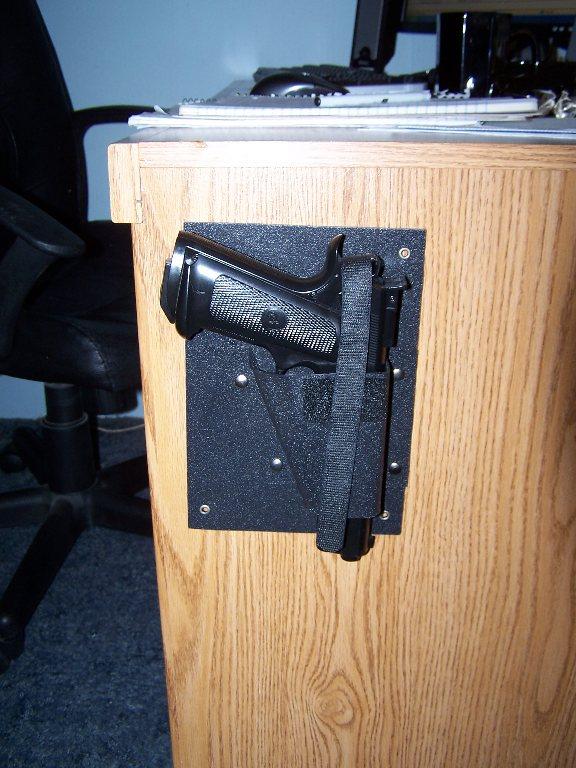 Hide A Way Desk Wall Car Holster By Nighthawk Protects