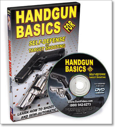 Handgun Basics Instructional DVD by Magill Productions