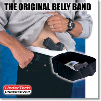 The 'Original Belly Band' Concealment Holster by UnderTech