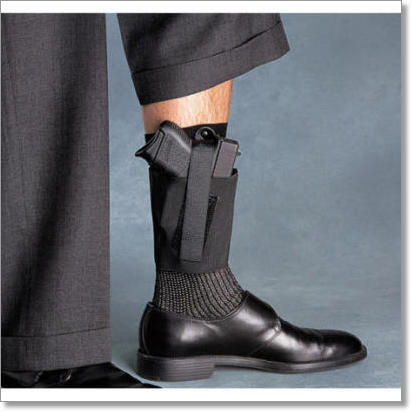 Cop Ankle Band Deep Concealment Ankle Holster by Galco