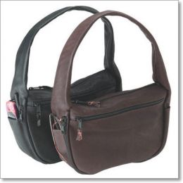 Solitaire Hobo-Style Leather Holster Handbag by Galco
