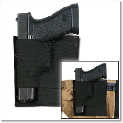 Concealment 'Stitch-In' IWB Handgun Holster Pocket by TravelSafe