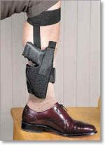 Nylon Concealed Carry Ankle Holster - Uncle Mike's Holsters