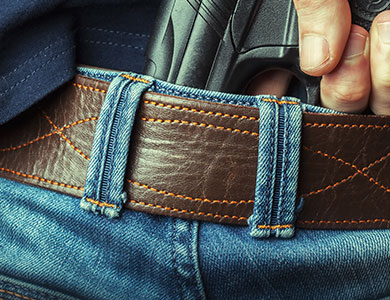 Conceal Carry Belt